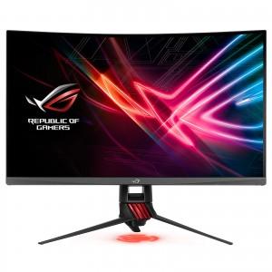 "ASUS ROG XG32VQR - Ecran PC gaming eSport 31,5"" WQHD - Dalle VA incurvée 1800R - 16:9 - 144Hz - 2560 x 1440 - 450cd/m² - 125% sRGB - Display Port et 2x HDMI - AMD FreeSync 2 HDR - AuraSync"
