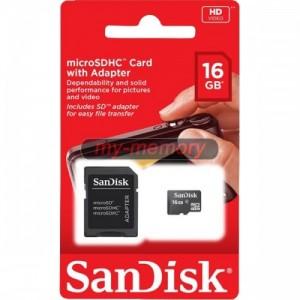 MC MICRO SD SANDISK 16 GB CLASS 4