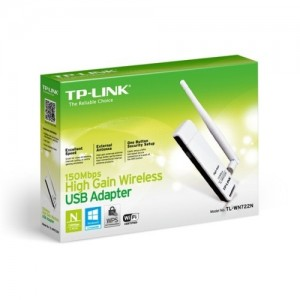 TP-LINK TL-WN722N  USB WIFI AVEC ENTENNE 150Mbps