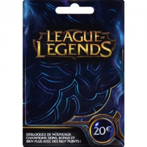 CARTE PRÉPAYÉE 3250RP (LEAGUE OF LEGENDS)