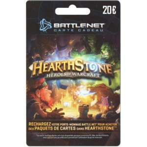 Carte Hearthstone: Heroes of Warcraft 20€