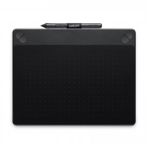 Wacom Intuos Art Medium Noir Tablette graphique créative tactile multi-touch et à stylet (PC / MAC)