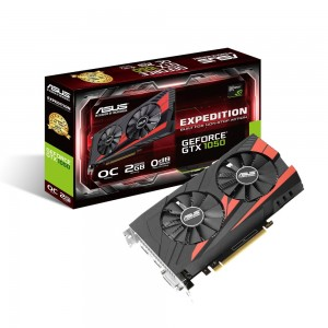 ASUS GeForce GTX 1050 OC EX-GTX1050-O2G