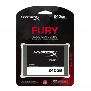 kingston HyperX Fury SSD Series 240 Go