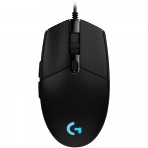 Logitech G203 Prodigy Gaming Mouse Souris filaire pour gamer - droitier - capteur optique 6000 dpi - 6 boutons programmables - rétro-éclairage RGB