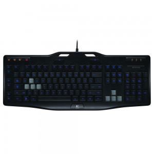 Logitech G105 Gaming Keyboard Clavier pour gamer avec rétro-éclairage LED (AZERTY, Français)