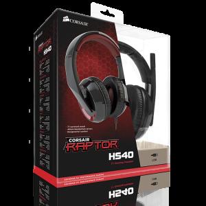 Corsair Raptor HS40 Casque-micro 7.1 USB circum-auriculaire fermé pour gamer