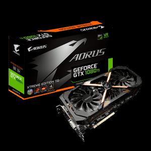 GIGABYTE AORUS GeForce® GTX 1080 Ti Xtreme Edition 11G