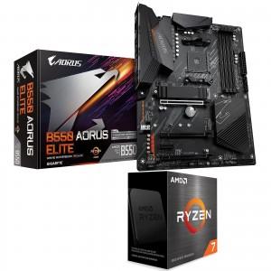 Kit Upgrade PC AMD Ryzen 7 5800X Gigabyte B550 AORUS ELITE
