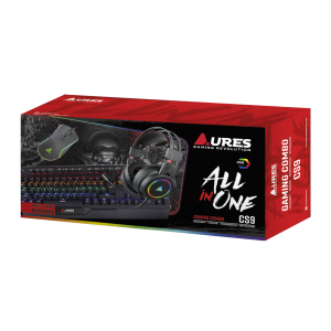 AURES CS9 GAMING ADVANCED COMBO ALL IN ONE