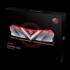 RAM ADATA DDR4 8GB 3000MHZ XPG GAMMIX D30 RED