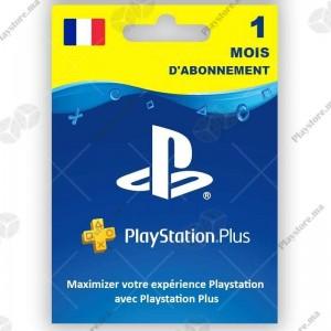 PlayStation Plus pour 1 mois - PS4 - PS3 - PS Vita PS3