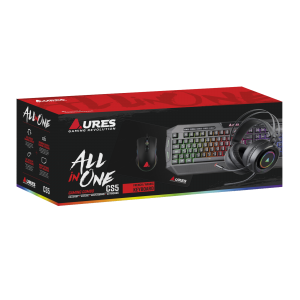 AURES CS5 STANDARD GAMING COMBO ALL IN ONE