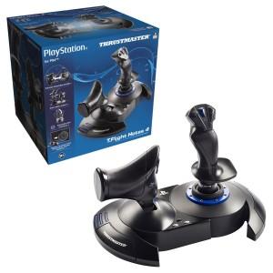 Joystick Thrustmaster T.Flight Hotas 4 Noir pour PS4/PC