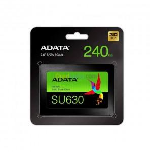 Adata Disque Dur Ssd Adata Su630 240Gb 2.5 Sata 3 Asu630Ss-240Cq-R Noir