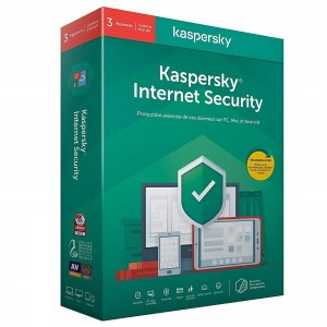Kaspersky Internet Security 2020 - Licence 5 postes 1 an Suite de sécurité Internet - Licence 1 an 5 postes (français, Windows, Mac, Android, iPhone et iPad)