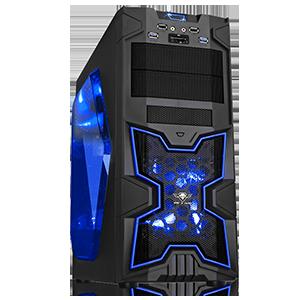 Spirit Of Gamer X-FIGHTERS 51 Blue Mana
