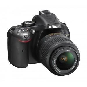 NIKON D5200 + OBJECTIF AF-S VR DX 18-55 MM - 24.1 MEGAPIXEL