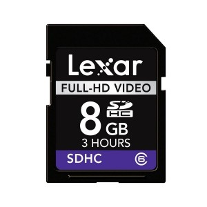 MC SD LEXAR 8GB CLASSE 10