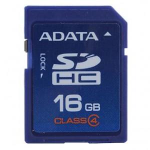 ADATA 16 GB SDHC CLASS 4 CARTE MEMOIRE