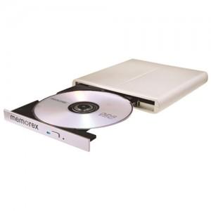 Graveur DVD 8x externe ultraplat de Memorex - Blanc