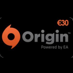 Carte prepayée Origin