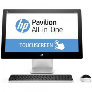 HP Pavillon 23 Aio i5-4590T 2.0GHz/12Go/1To/23'' IPS FHD TACTILE/DVDRW/INTEL GRAPHICS HD/Win 10/Clavier+Souris Sans fil