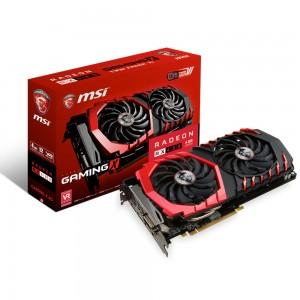 MSI Radeon RX 480 GAMING X 4G 4 Go DVI/Dual HDMI/Dual DisplayPort - PCI Express (AMD Radeon RX 480)