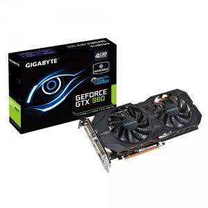 GIGABYTE GTX 960 WindForce 4Go ~ GV-N960WF2OC-4GD
