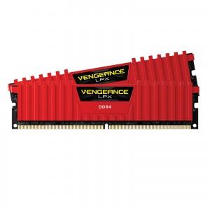 Corsair Vengeance LPX Series Low Profile 16 Go (2x 8 Go) DDR4 2666 MHz CL16 RED
